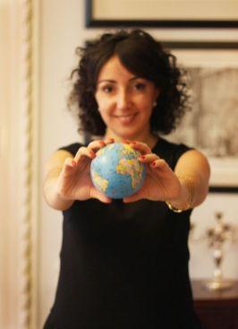 Isabel Leyva, con el mundo en sus manos