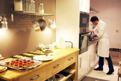El chef personal Joan Gurguí manos a la obra en Up Art BCN