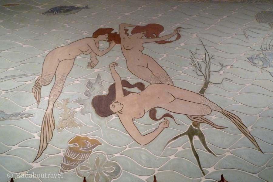 Sirenas de Ramon Casas en el Hotel Espanya