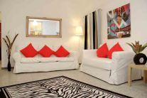 El salon de nuestro apartamento en Roma