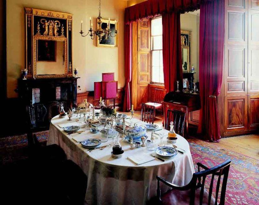 Salón de la Georgian House © The National Trust of Scotland