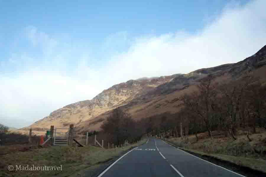 Conducir por la izquierda en Escocia