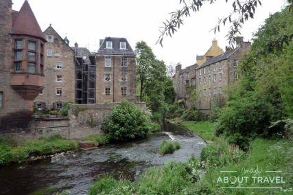 que ver en Edimburgo: Dean Village
