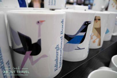 Merchandising del Festival Internacional del libro de Edimburgo