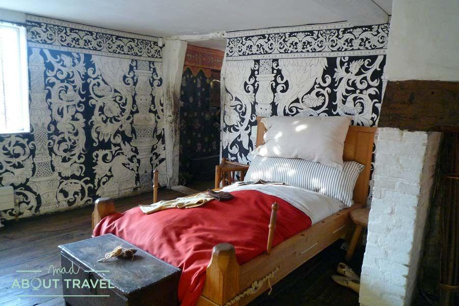 Habitación en la casa de Shakespeare