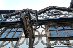 Edificio Tudor en Stratford