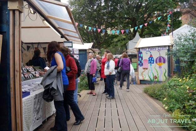 Feria de Artesanos del Festival de Edimburgo