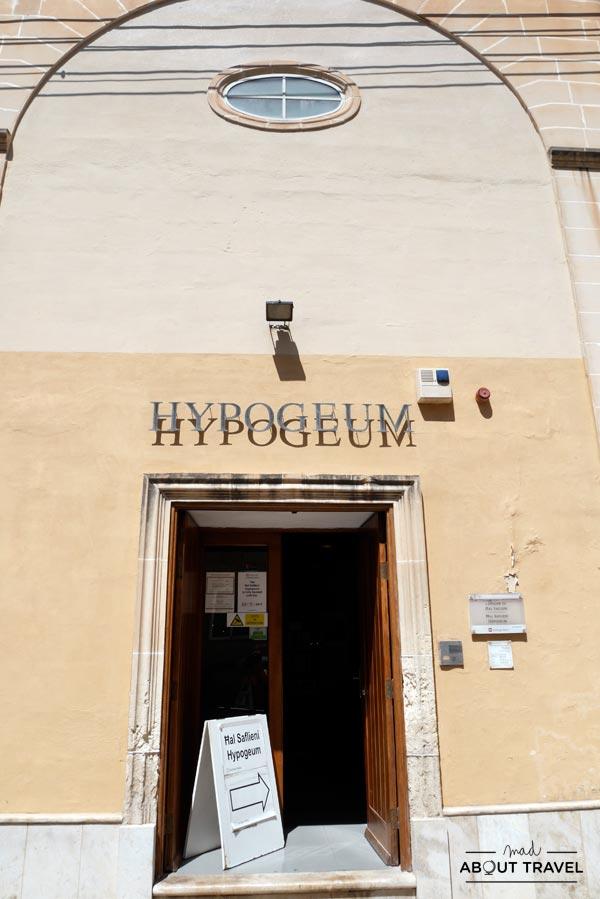 Hipogeo de Hal Saflieni, Malta