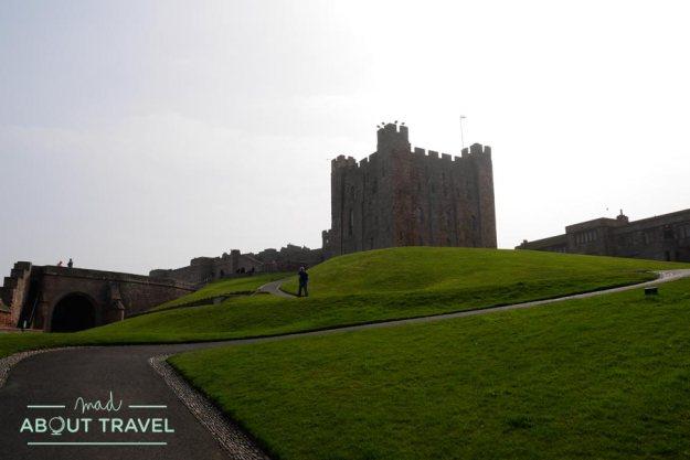 Castillo de Bamburgh, Nortumbria, Inglaterra