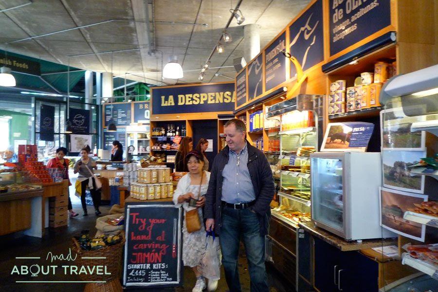 Brindisa, sabor español en Borough Market de Londres