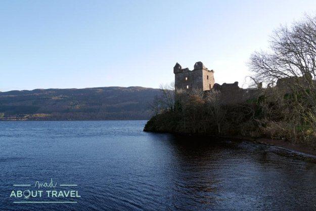 Castillo de Urquhart en el Lago Ness
