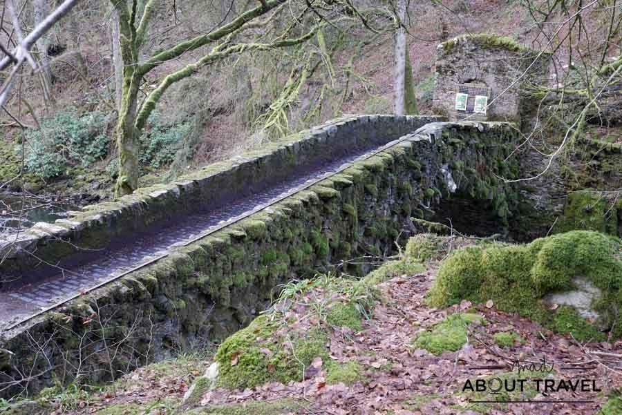 Puente en el Hermitage de Dunkeld