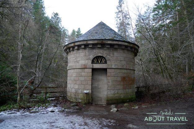 El salón de Ossian en el Hermitage de Dunkeld