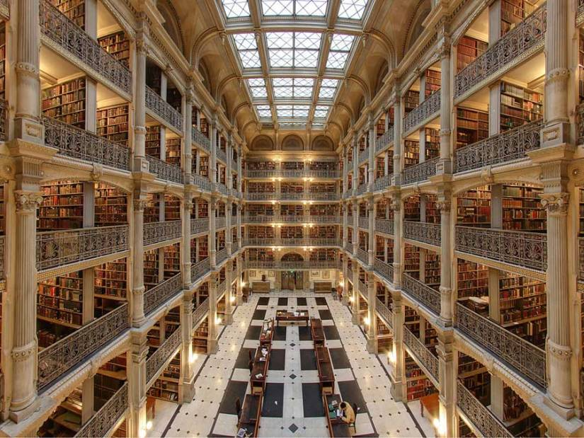 Biblioteca George Peabody en Baltimore