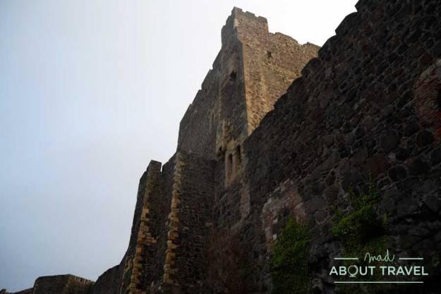 Castillo de Carrickfergus en Irlanda del Norte