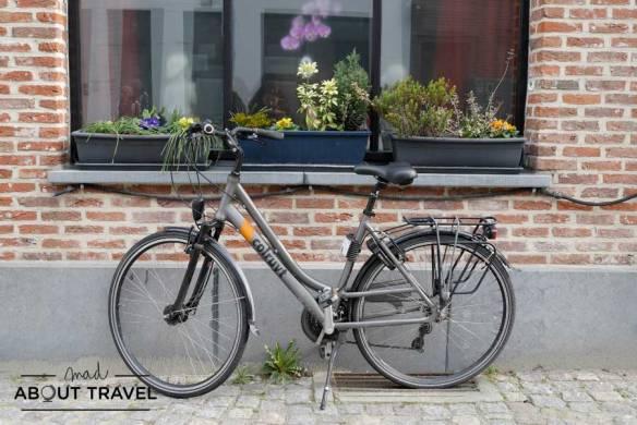 Bicicleta en Malinas