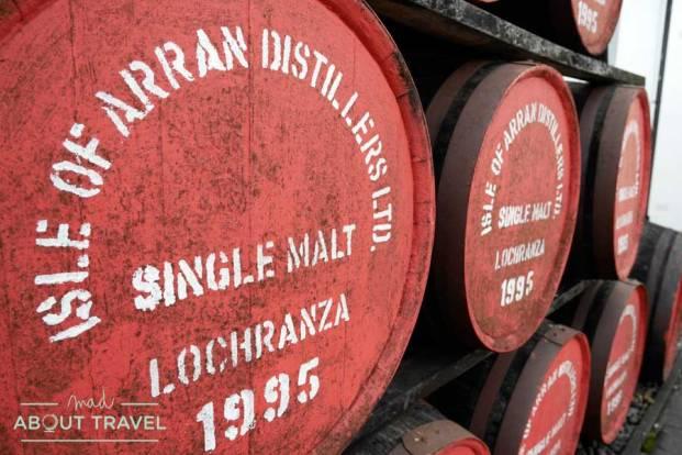 Destilería de whisky de la isla de Arran