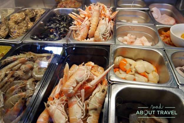 Comida en Octopussys en Howth