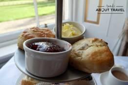 Afternoon tea en el Melville Castle