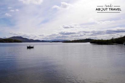 El Loch Lomond visto desde Luss