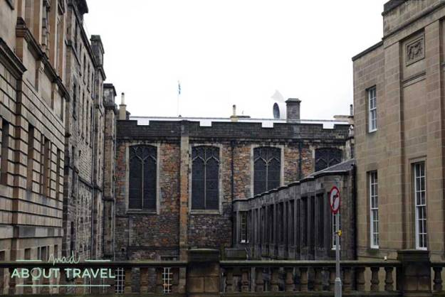 Tour Outlander Antiguo Parlamento en Edimburgo
