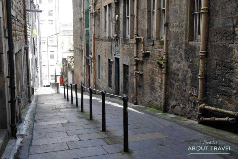 Tour Outlander - Carrubbers's Close en Edimburgo