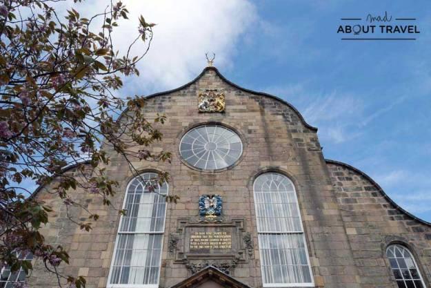 Tour Outlander - Iglesia de Canongate Edimburgo