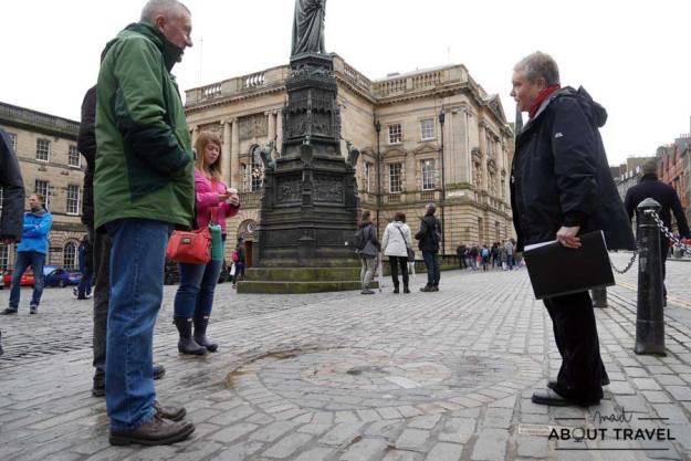 Tour Outlander Ubicacion de la Old Tolbooth de Edimburgo
