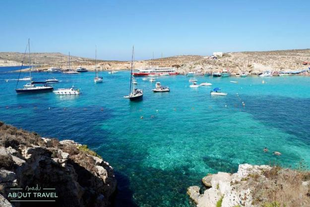 Blue Lagoon en Comino, Malta