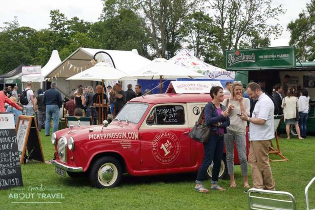 Foodies Festival en Edimburgo