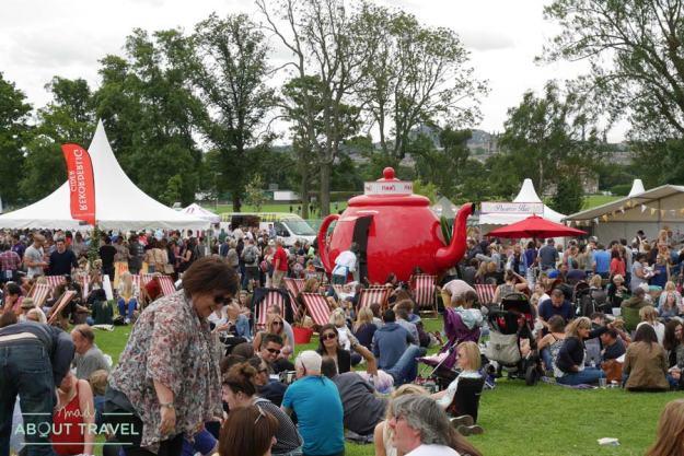 Foodies Festival en Edimburgo