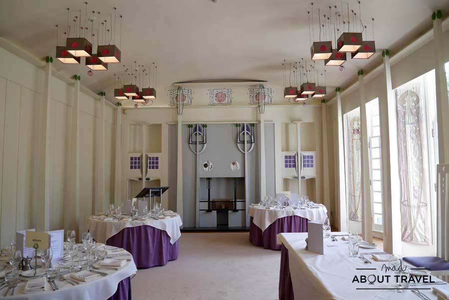 House for an Art Lover de Mackintosh en Glasgow