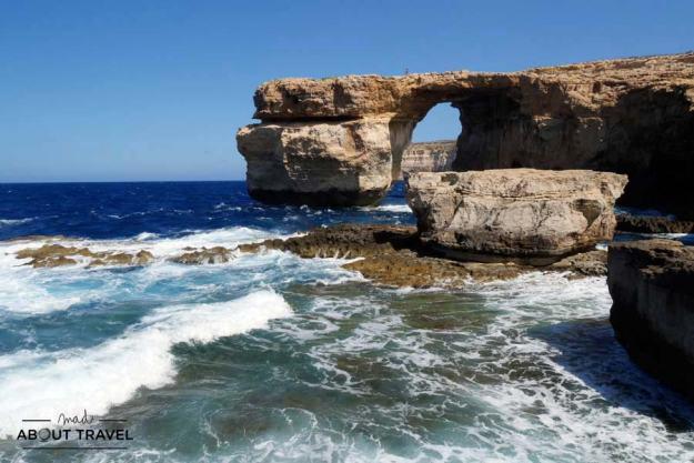Azure Window en Gozo, Malta
