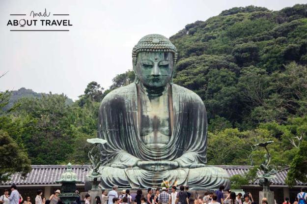 Gran buda de Kamakura en Japón