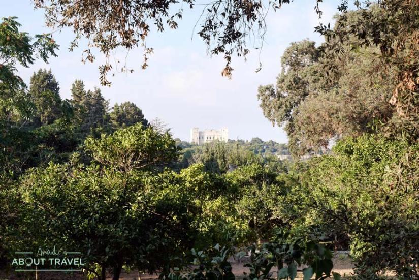 Buskett Gardens y Palacio de Verdala en Malta