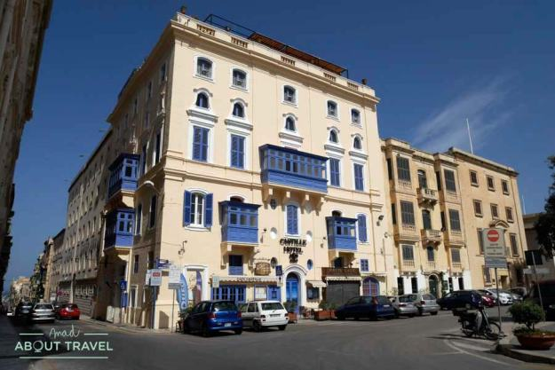 Hotel Castille en La Valletta, Malta