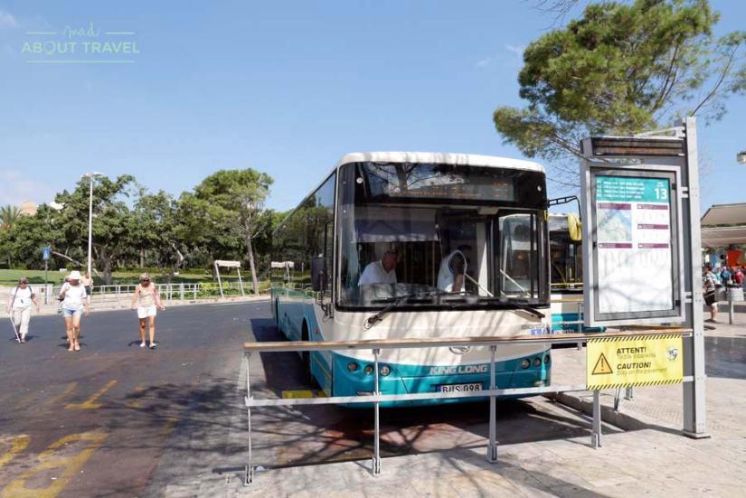 Estación de autobuses de La Valletta, malta