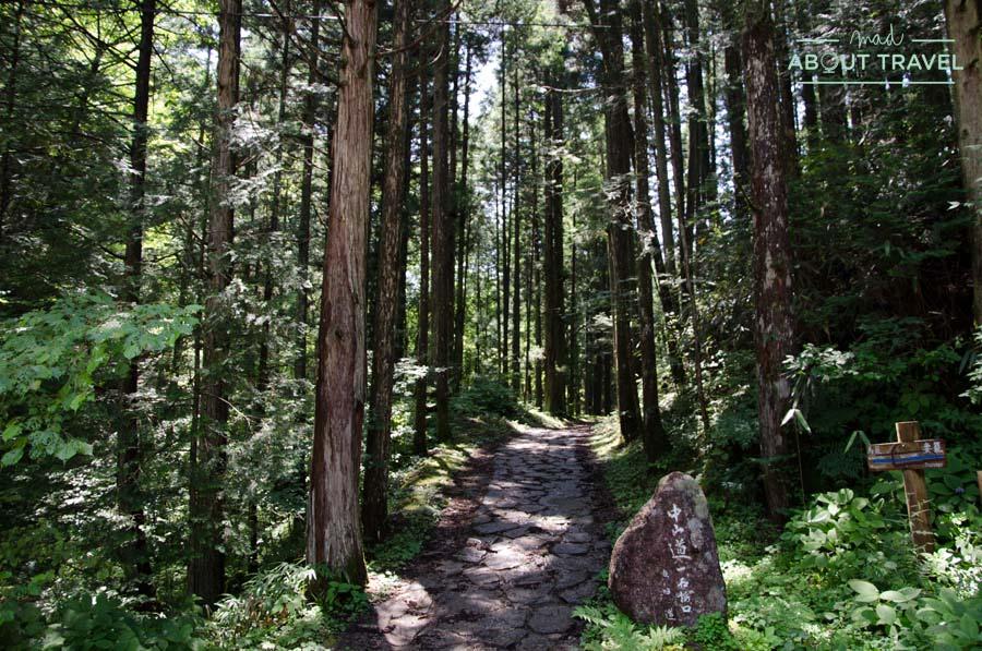 Ruta del Nakasendo por el Valle del Kiso en Japón