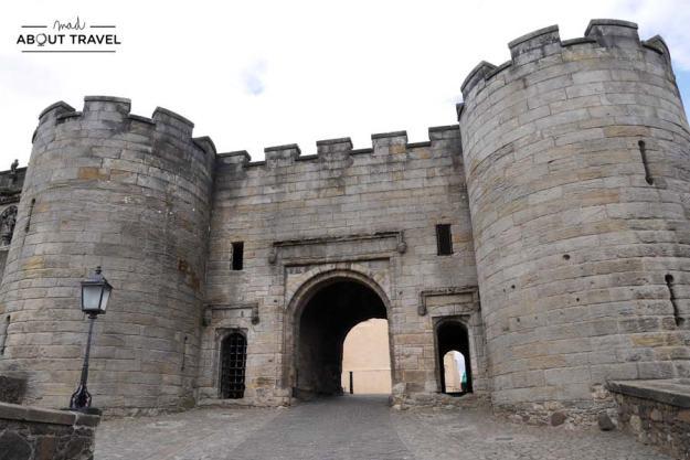 Entrada al castillo de stirling