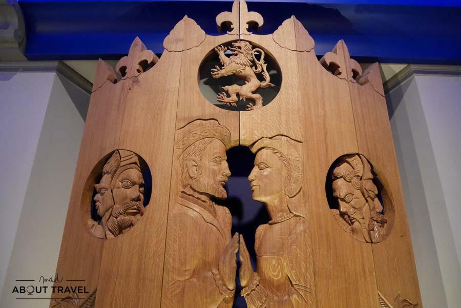 Galería de las Cabezas en el Castillo de Stirling