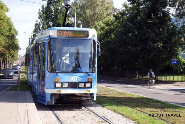 Tranvía en Oslo