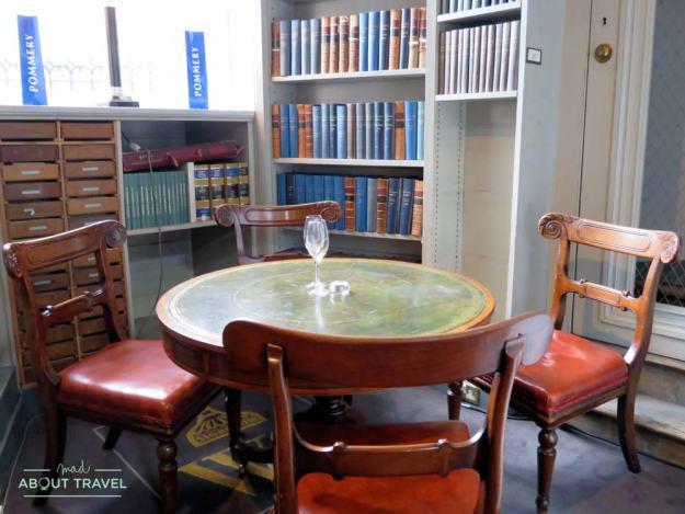 Afternoon tea en la Signet Library de Edimburgo