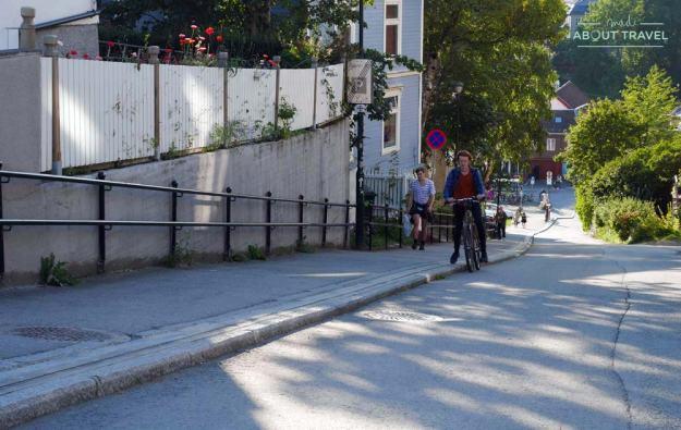 Ascensor de bicicletas de Trondheim