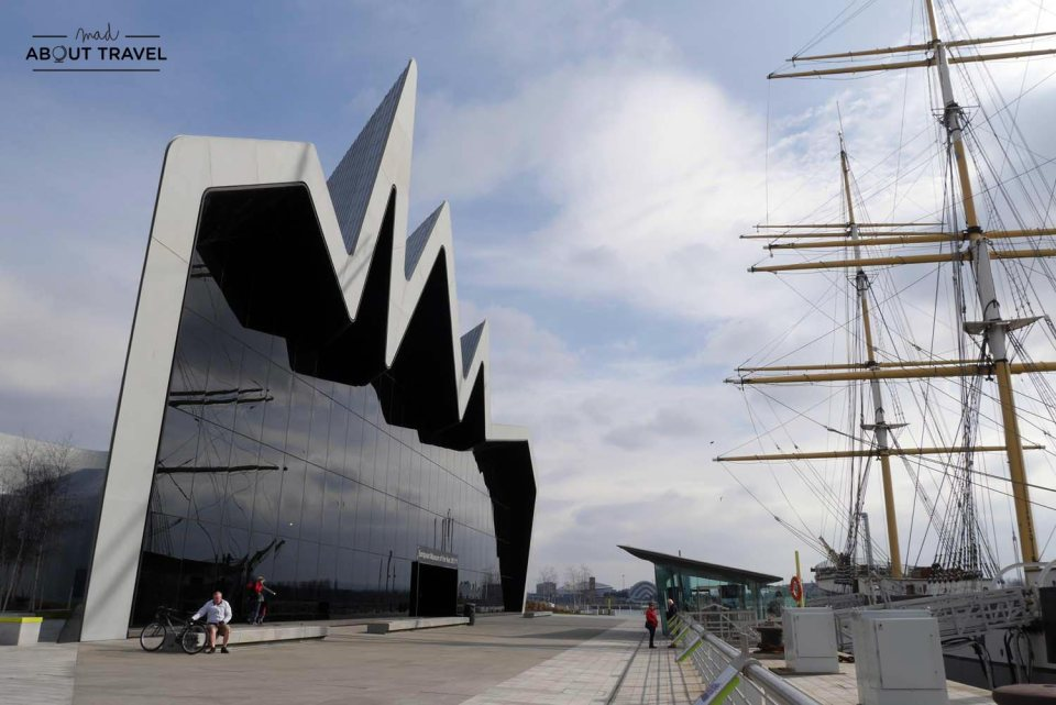 Museo Riverside de Glasgow