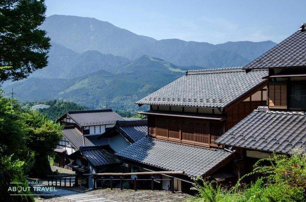 Vistas de Magome en el valle del Kiso