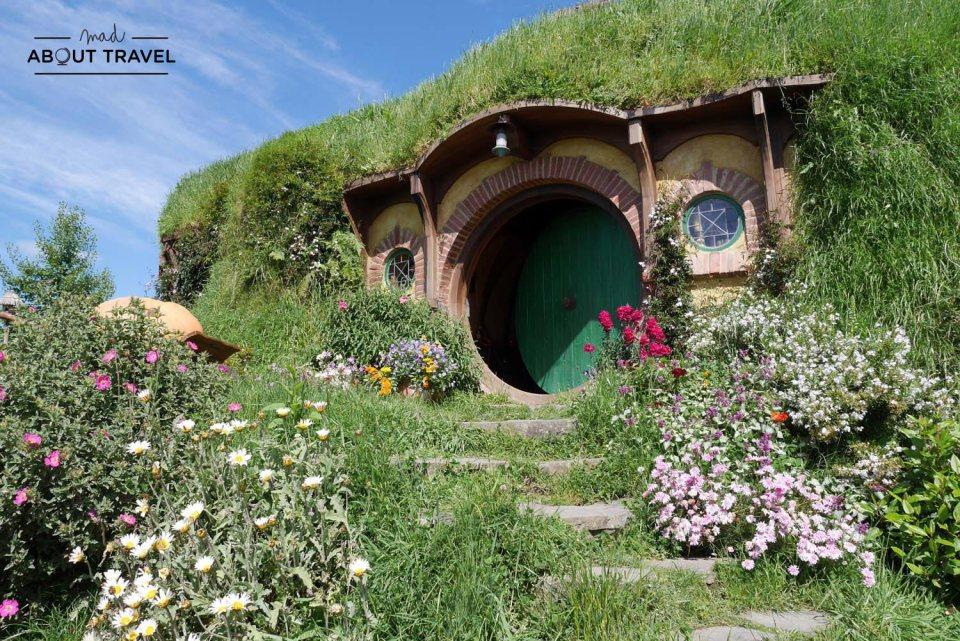 Hobbitonvisita a Hobbiton en Matamata Nueva Zelanda