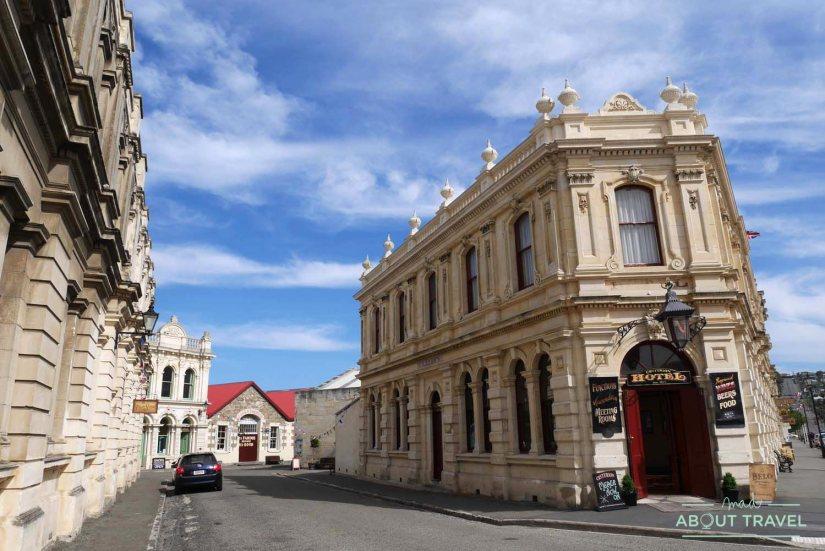 REcinto victoriano en Oamaru