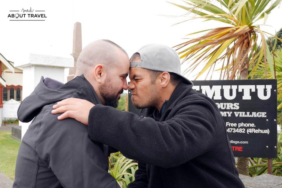 Visita maorí en Rotorua
