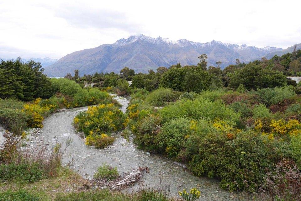 Twelve Mile Delta a las afueras de Queenstown Nueva Zelanda