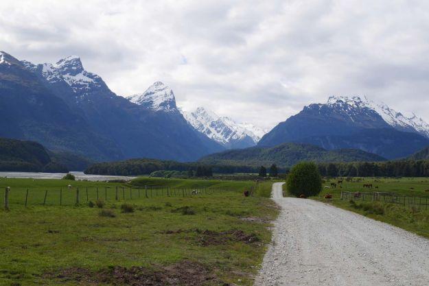 Ruta de El Señor de los anillos en Glenorchy, Queenstown Nueva Zelanda